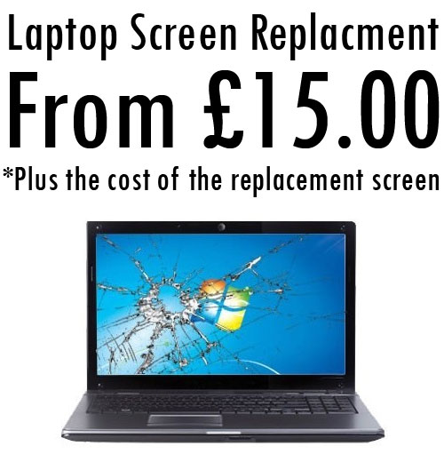 Laptop Screen Repair Martlesham Suffolk